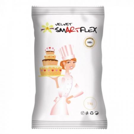 SmartFlex masa cukrowa Velvet Waniliowa biała 1 kg