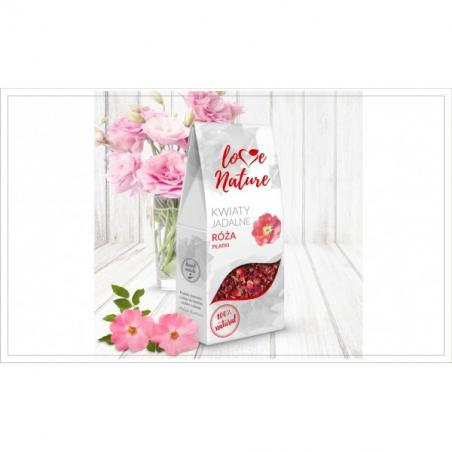 Kwiaty jadalne Róża płatki