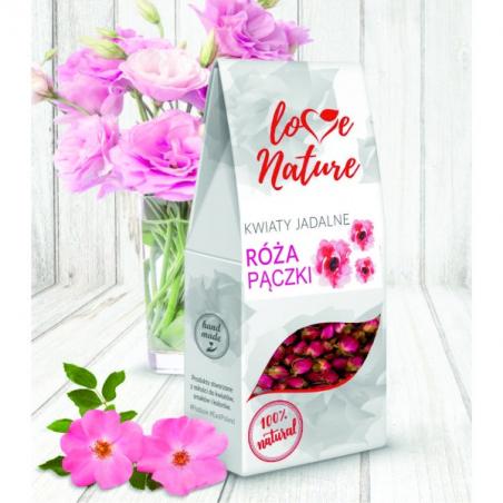 Kwiaty jadalne Pączki róż