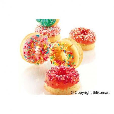 Silikomart forma silikonowa mini donuts śr. 45/15 mm wys. 18mm