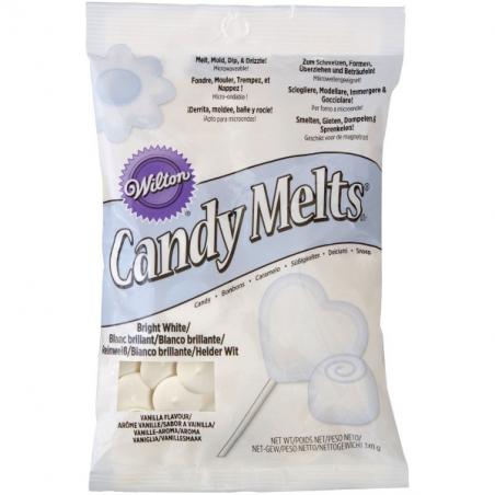 Candy melts polewa do cake popsów pastylki biała 1 kg