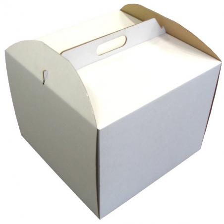 Pudełko na tort wysokie 26 x 26 x 25