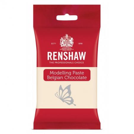 Czekolada plastyczna biała masa do figurek Renshaw 180 g
