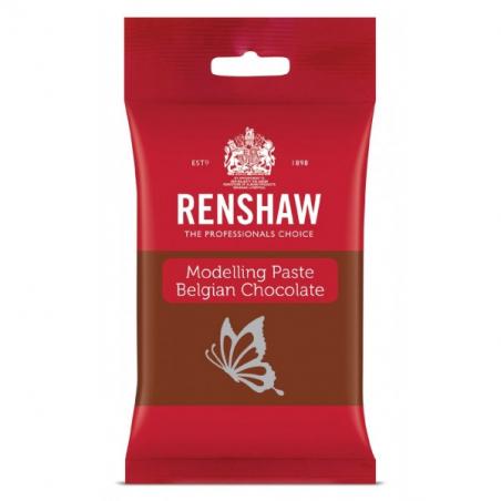 Czekolada plastyczna ciemna masa do figurek Renshaw 180 g
