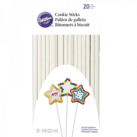 Patyczki do lizaków cakepops długość 20 cm 25 szt.