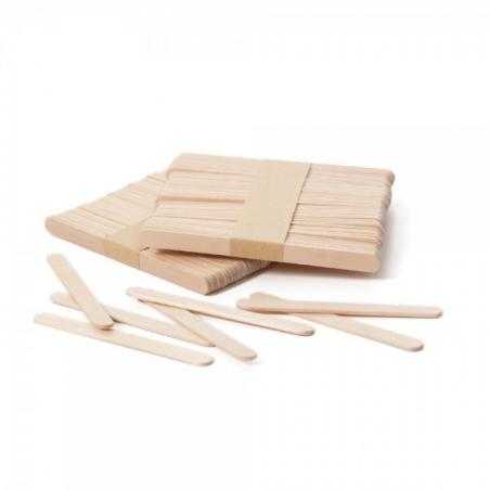 Patyczki do lodów drewniane, cakesicle 100 szt.