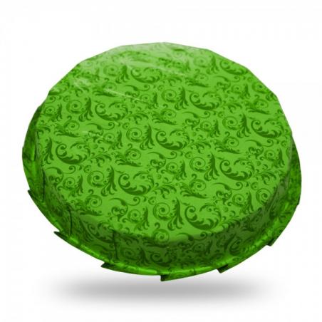 Forma do pieczenia jednorazowa zielona śr. 18 cm