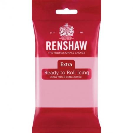 Masa cukrowa Extra Renshaw różowa 250 g