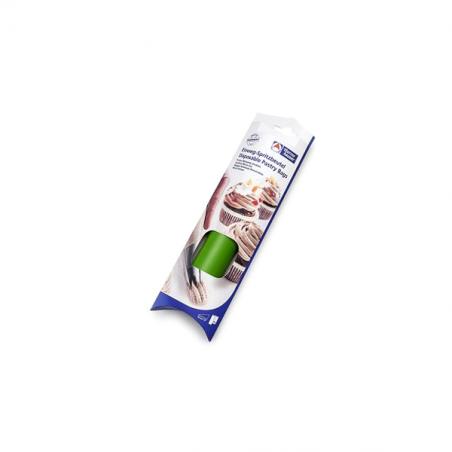 Rękawy cukiernicze jednorazowe, 26 szt. (53 cm), zielone