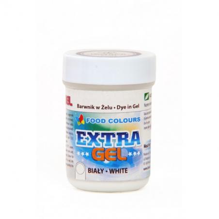 Barwnik spożywczy w żelu biały extra gel Food Colours