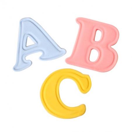 Stempelki wykrawaczki alfabet z wypychaczem wielkie litery 26 cz.