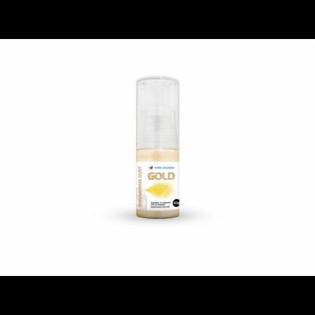 Barwnik spożywczy złoty puder suchy spray food colours 10g