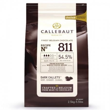 Czekolada ciemna Callebaut 811 w pastylkach 2,5kg