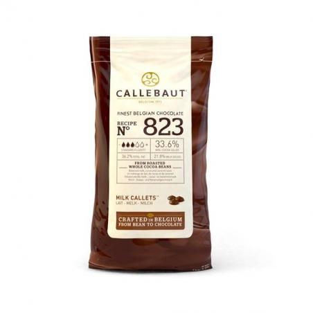 Czekolada mleczna Callebaut 823 w pastylkach 1kg