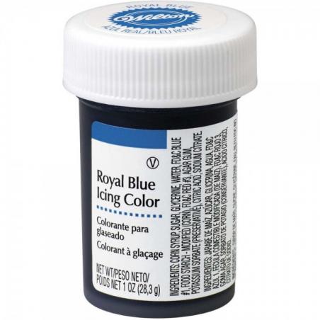 Barwnik spożywczy w żelu niebieski, błękit królewski royal blue