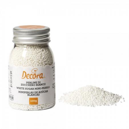 Posypka białe perełki maczek Decora