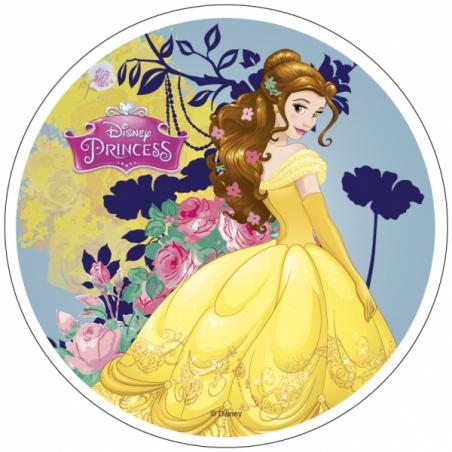 Opłatek na tort Księżniczka okrągły 20 cm
