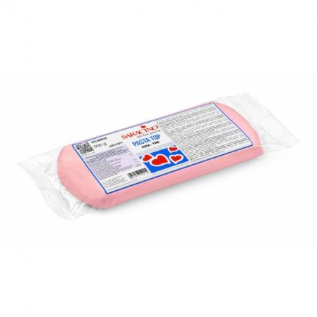 Masa cukrowa 500g różowa, Pasta Top