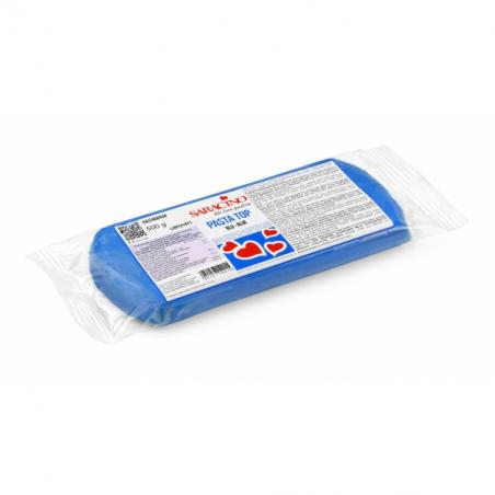 Masa cukrowa 500g niebieska, Pasta Top