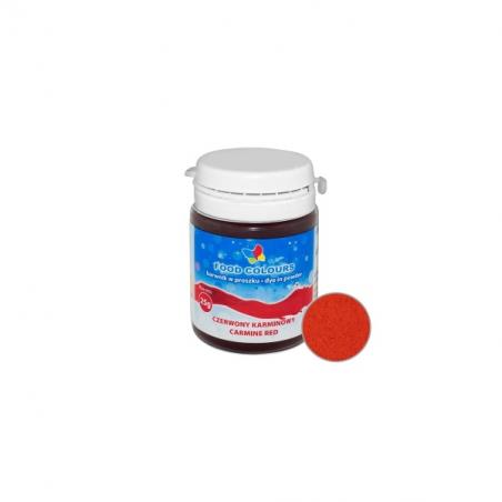 Barwnik spożywczy w proszku czerwony karminowy 25 g