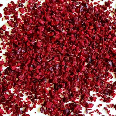 Wiśnia liofilizowana, grys, 30 g