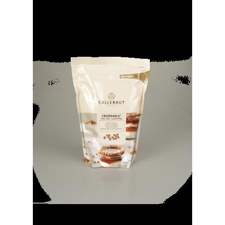 Czekoladowe perełki Crispearls solony karmel Callebaut  0,8 kg