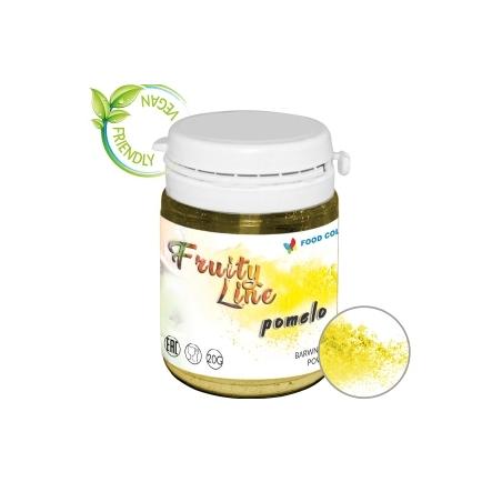 Barwnik naturalny w proszku jasny żółty pomelo