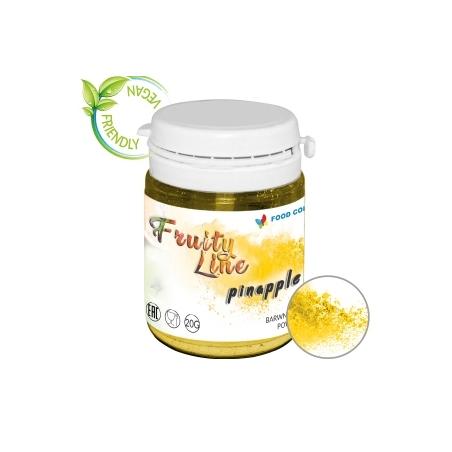 Barwnik naturalny w proszku żółty pineapple