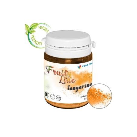 Barwnik naturalny w proszku  pomarańczowy tangerine