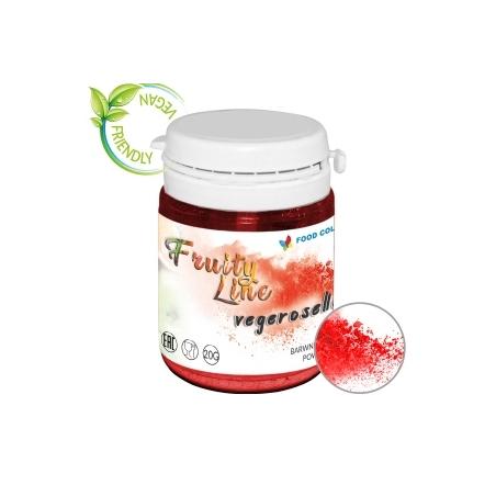 Barwnik naturalny w proszku czerwony vegeroselle