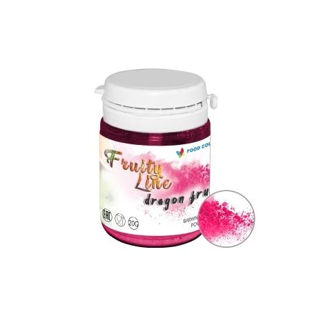 Barwnik naturalny w proszku różowy dragon fruit