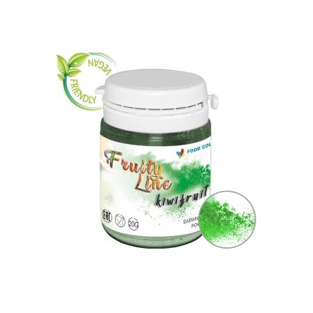 Barwnik naturalny w proszku ciemny zielony kiwifruit