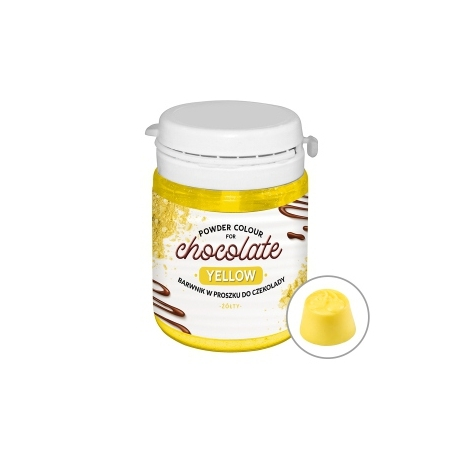 Barwnik spożywczy do czekolady żółty