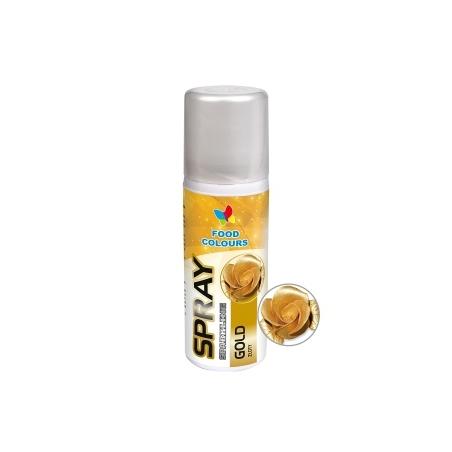 Barwnik spożywczy złoty 50 ml spray