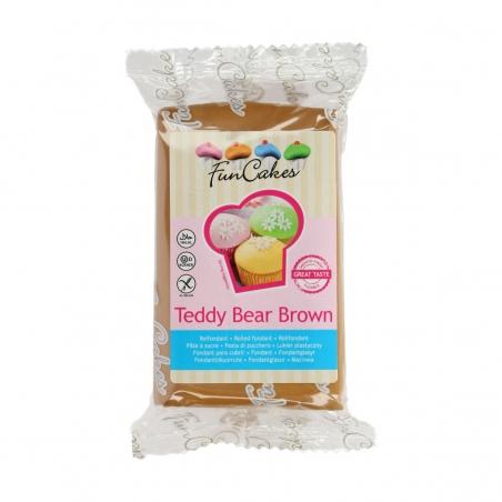 Masa cukrowa jasna brązowa teddy bear 250 g