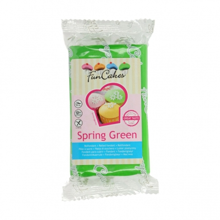 Masa cukrowa zielona spring green 250 g
