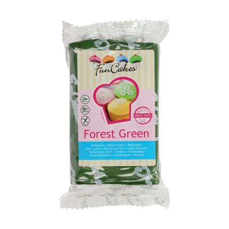 Masa cukrowa zielona ciemna forest green 250 g