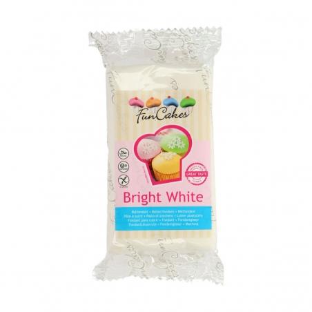 Masa cukrowa biała bright white 250 g