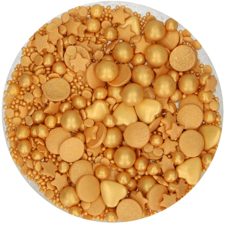 Posypka mix złota delux