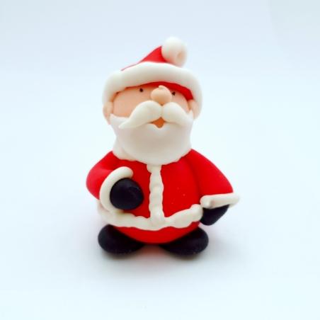 Dekoracja cukrowa Mikołaj