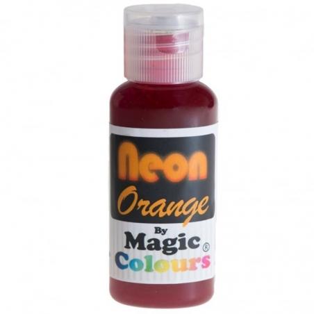 Barwnik spożywczy w żelu neonowy pomarańczowy
