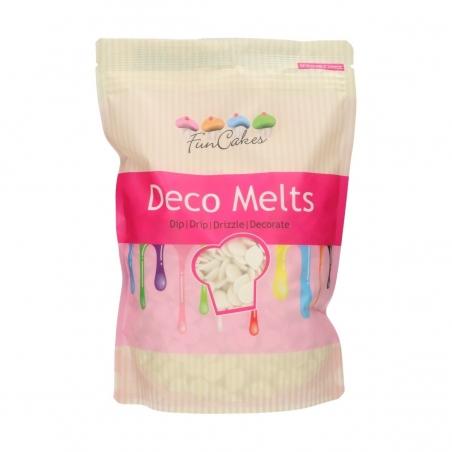 Candy melts polewa do cake popsów pastylki śnieżnobiała 1kg