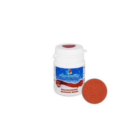 Barwnik spożywczy w proszku brązowy mahoniowy