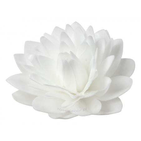 Kwiaty waflowe Dalia biała