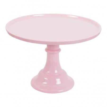 Patera do ciast i tortów różowa śr. 29,7 cm