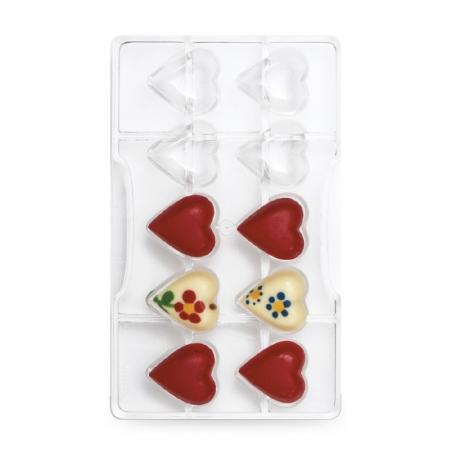 Forma do czekoladek serca