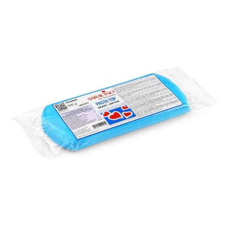 Masa cukrowa 500g błękitna, Pasta Top