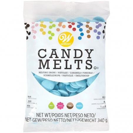 Candy melts polewa do cake popsów pastylki niebieska 340 g
