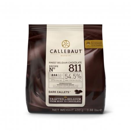 Czekolada ciemna Callebaut 811 w pastylkach 400g