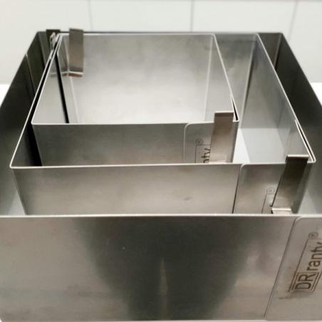 Rant cukierniczy kwadratowy 20 x 20 cm wys. 12 cm Dorosiowe Ranty